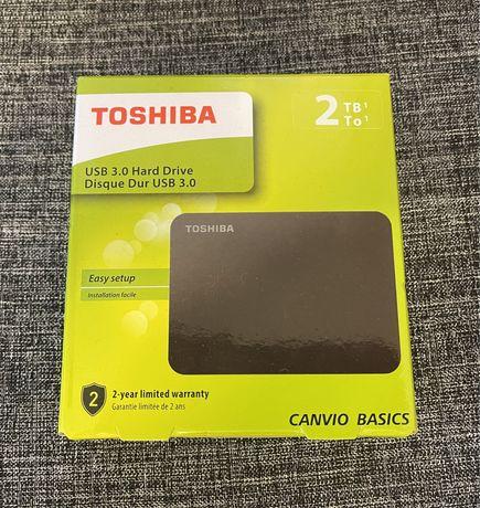 Dysk Toshiba Canvio Basics 2TB stan idealny