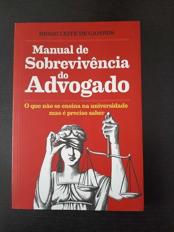 Livro Manual de Sobrevivência do Advogado (oferta portes)