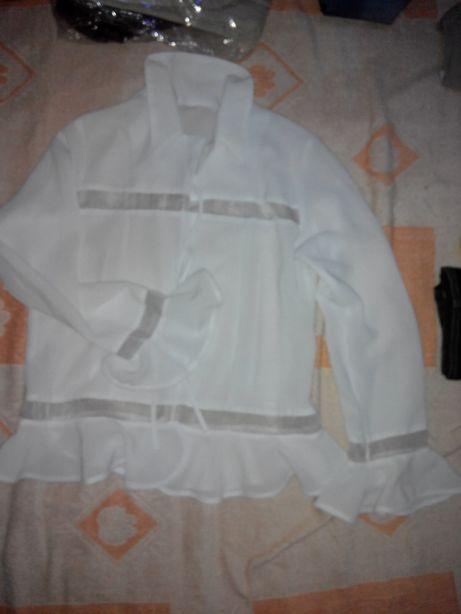 Блуза белая недорого!