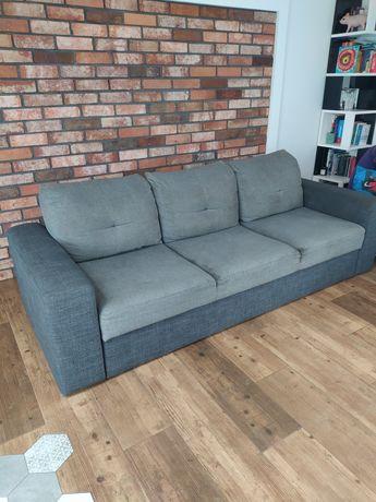 Sofa kanapa rozkładana z funkcją spania Wajnert szara