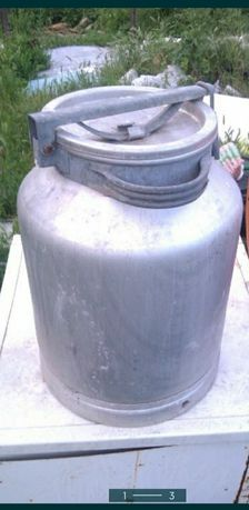 Бідон алюмінієвий 40л
