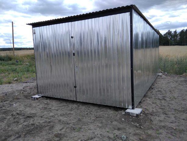 Garaż typowy 3x5, blaszany, blaszaki, 3x6 4x5 6x5