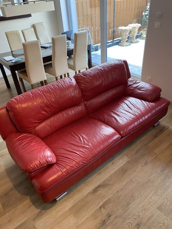 Sofa i fotele  - meble ze skóry