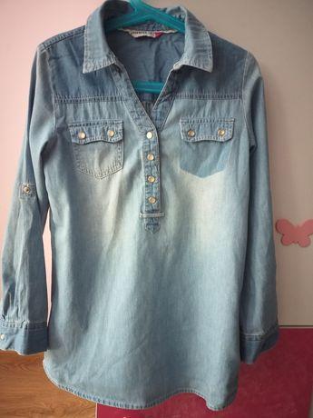 Koszula dżinsowa 128