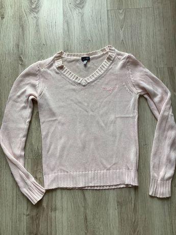 Armani różowy sweterek