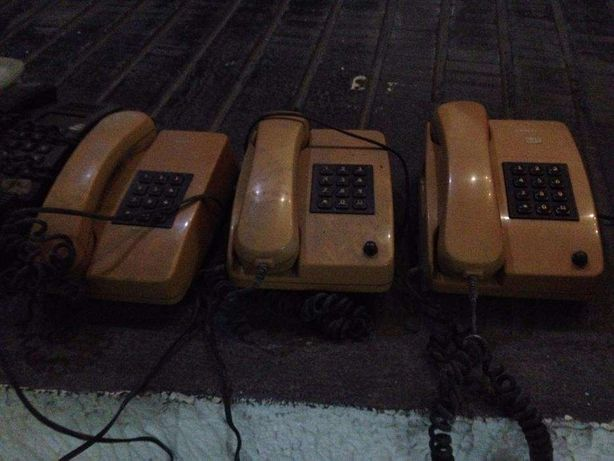 Telefones Clássicos com Fio Vários Modelos