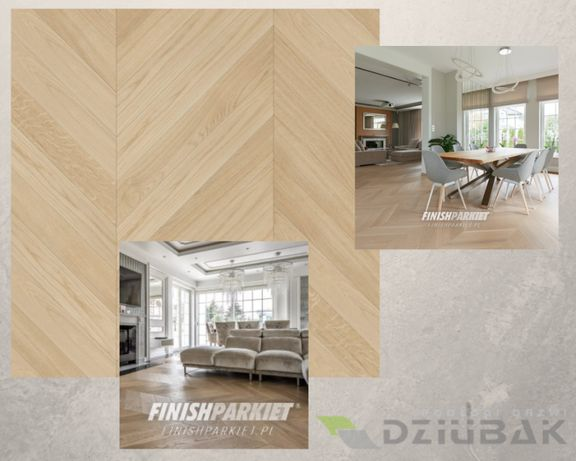 Finishjodła francuska, podłoga drewniana, Finishparkiet 560mm