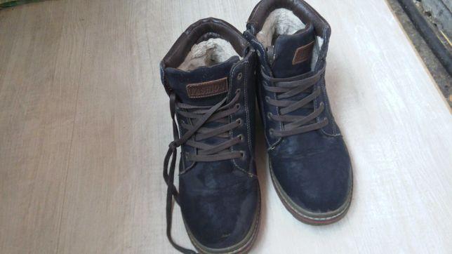 Ботинки зимние, берцы, 41 размер