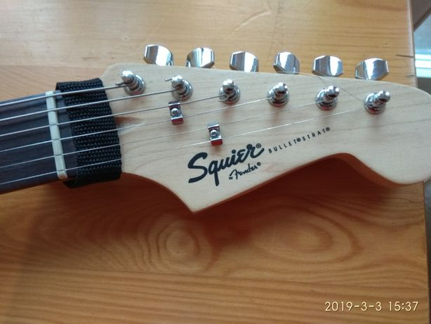 Squier Bullet by Fender Stratocaster
