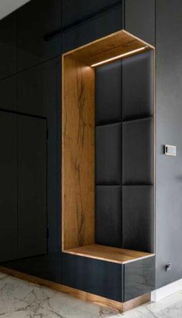Panele ścienne tapicerowane ścianki wnęki sypialnie na wymiar 30/60