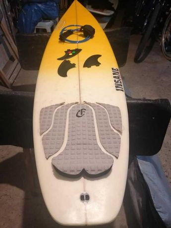 6.4 Evolution Funboard prancha de surf deck fins FCS Malibu nsp torq