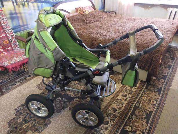 """Детская коляска трансформер зима лето. """"VICTORIA"""""""