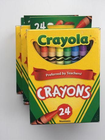 Crayola washable crayons. Классические мелки , восковые карандаши