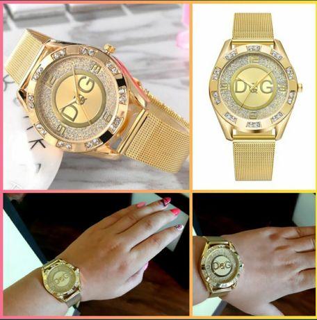 Efektowne złote zegarki dolce Gabbana!idealne na prezent! WYSYŁKA 1 zł