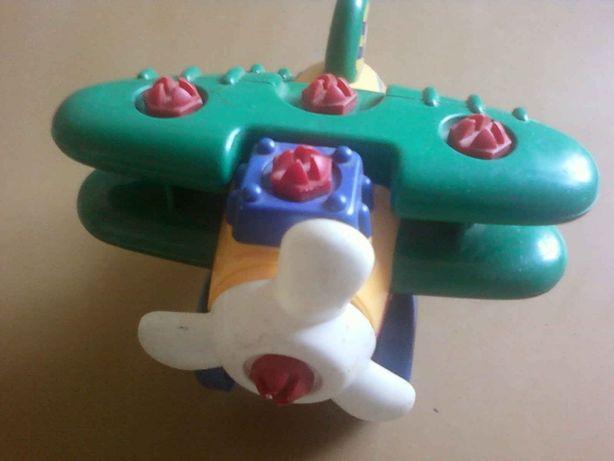 Детский конструктор Самолет, Мотоцикл