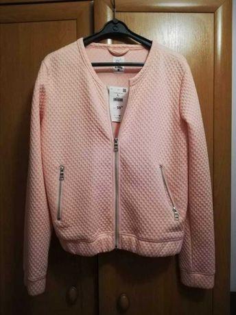 Nowa bluza z metką kolor pudrowy róż rozmiar L