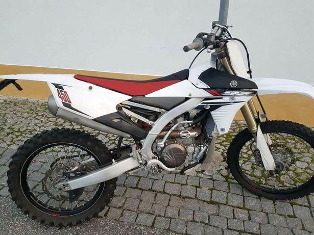 Yamaha yz 450 Matriculada