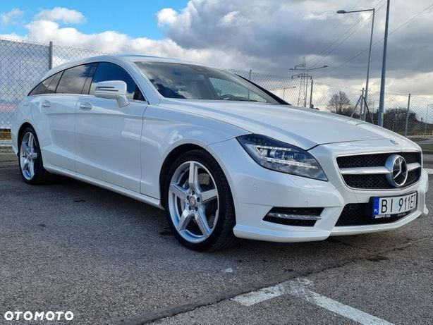 Mercedes-Benz CLS CLS 500 4MATIC 4,7 V8 408KM Jak Nowy Bezwypadkowy