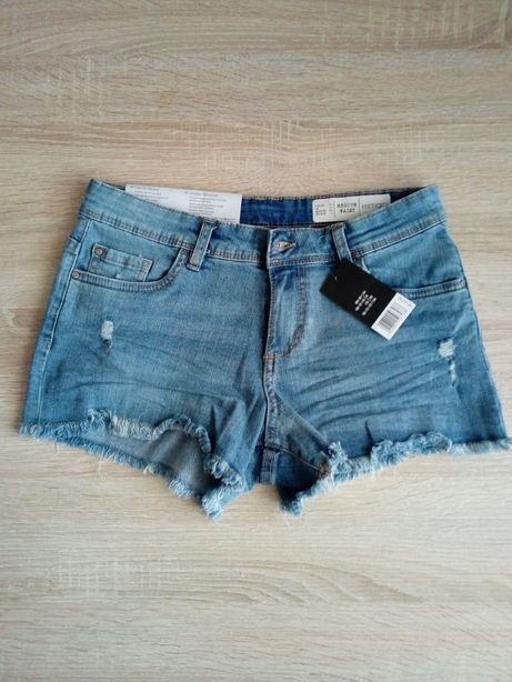 Sprzedam nowe szorty dżinsowe 34.