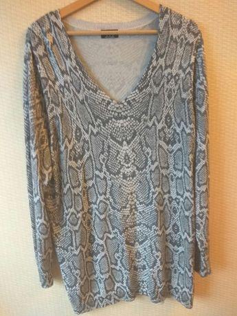 FFj. nowy sweterek z metalicznym włóknem r.48/50