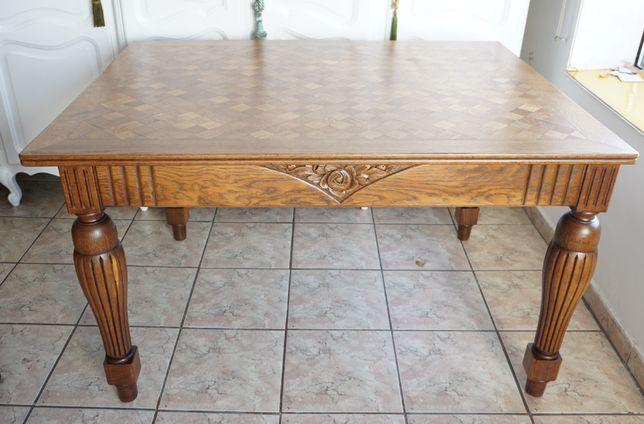 stół secesyjny z 1930 roku stary antyki drewniany do jadalni