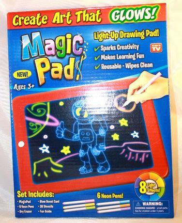 Magiczny Tablet Led Tablica Znikopis MAGIC PAD