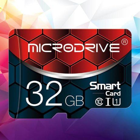 MicroDrive Class10 micro SD + адаптер SD 32 ГБ
