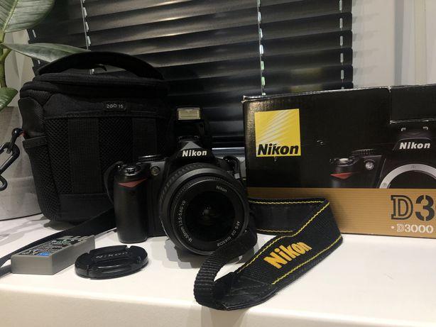 Nikon d3000 1855 vr kit