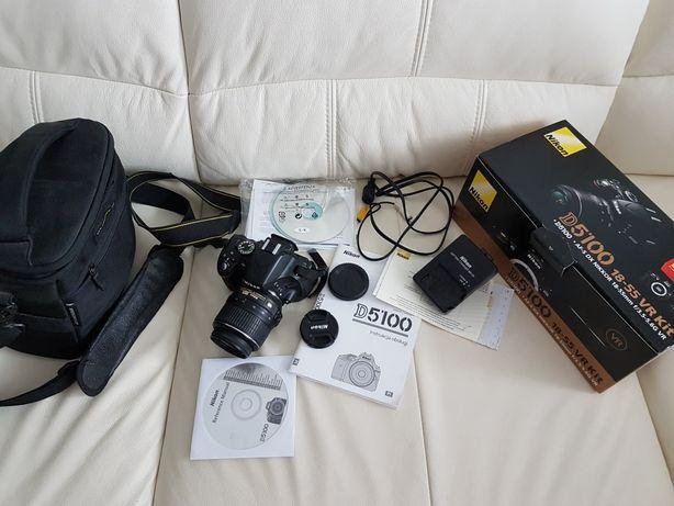 Aparat Nikon d5100 + obiektyw 18-55mm+torba