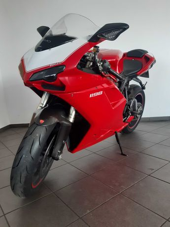 Ducati 1198 Kontrola trakcji Bardzo rzadki model 2011rok