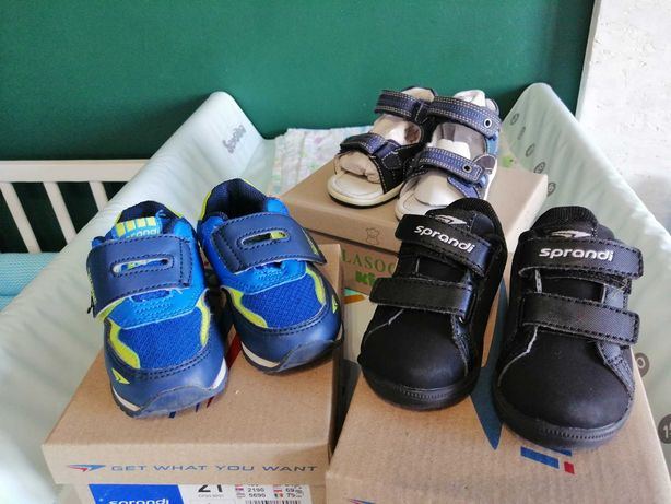 Buty chłopięce, adidaski i sandały