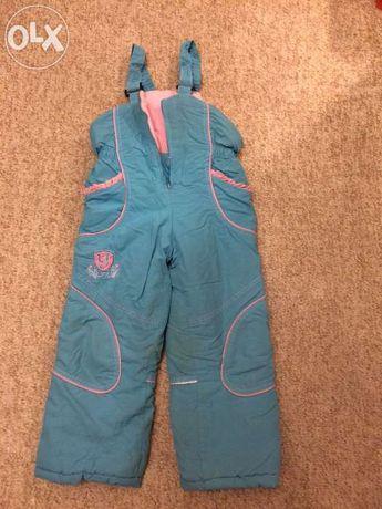 Зимние брюки - полукомбинезон, 116