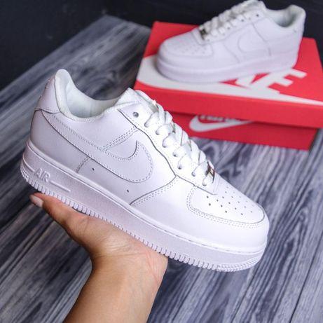 4118 Nike Air Force белые кроссовки женские найк аир форс кросовки