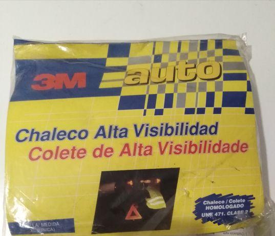 Colete Refletor Alta Visibilidade Automóvel EN471 (NOVO)