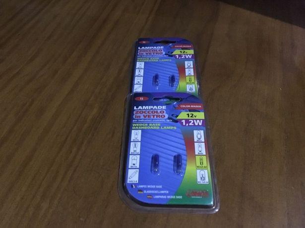 Lâmpadas t5 azuis novas