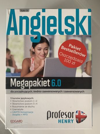 Kompleksowy kurs angielskiego Profesor Henry Megapakiet 6.0