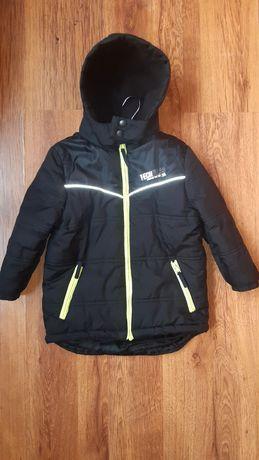 Фирменная зимняя термо куртка DUCK&DODGE на рост 104 см