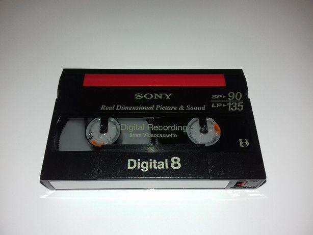 Cassetes de video Digital 8 - 90/135min