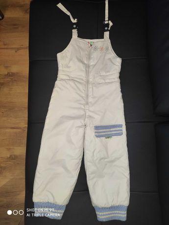 Spodnie ocieplane/narciarskie r.110