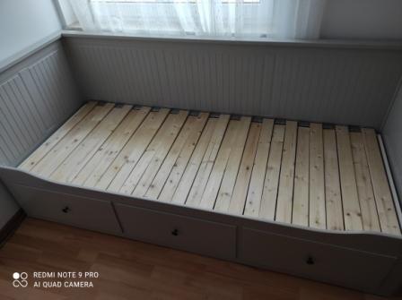 Łóżko Hemnes Ikea 160x200