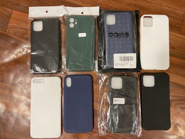 Распродажа! Стекла и чехлы на iPhone 12, 12 Pro, 11, XR, 7/8 Plus,