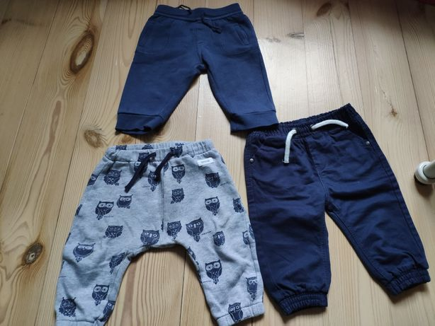 Spodnie dresy r.74 newbie cool club f&f