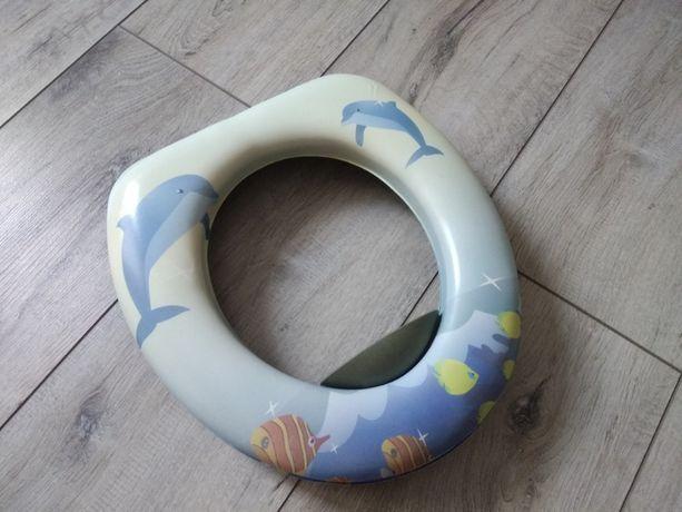 Детское сидение для унитаза, мягкая накладка детская на унитаз