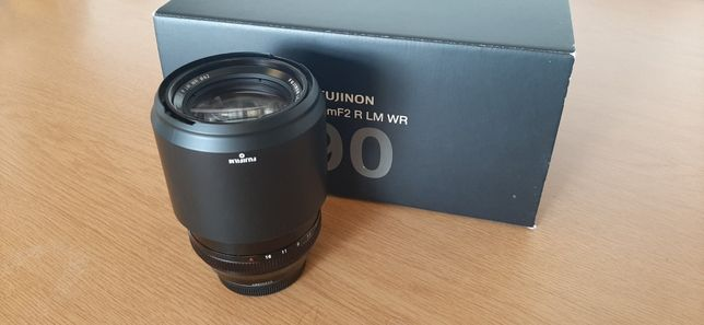 Fujifilm XF 90mm f/2 R (Como Nova)