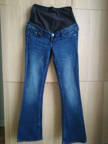 Spodnie ciążowe H&M mama, jeans, rozmiar 38