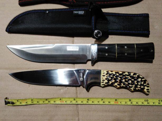 Dwa noże survivalowe, full-tang