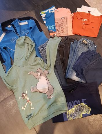 Ubrania chłopiec