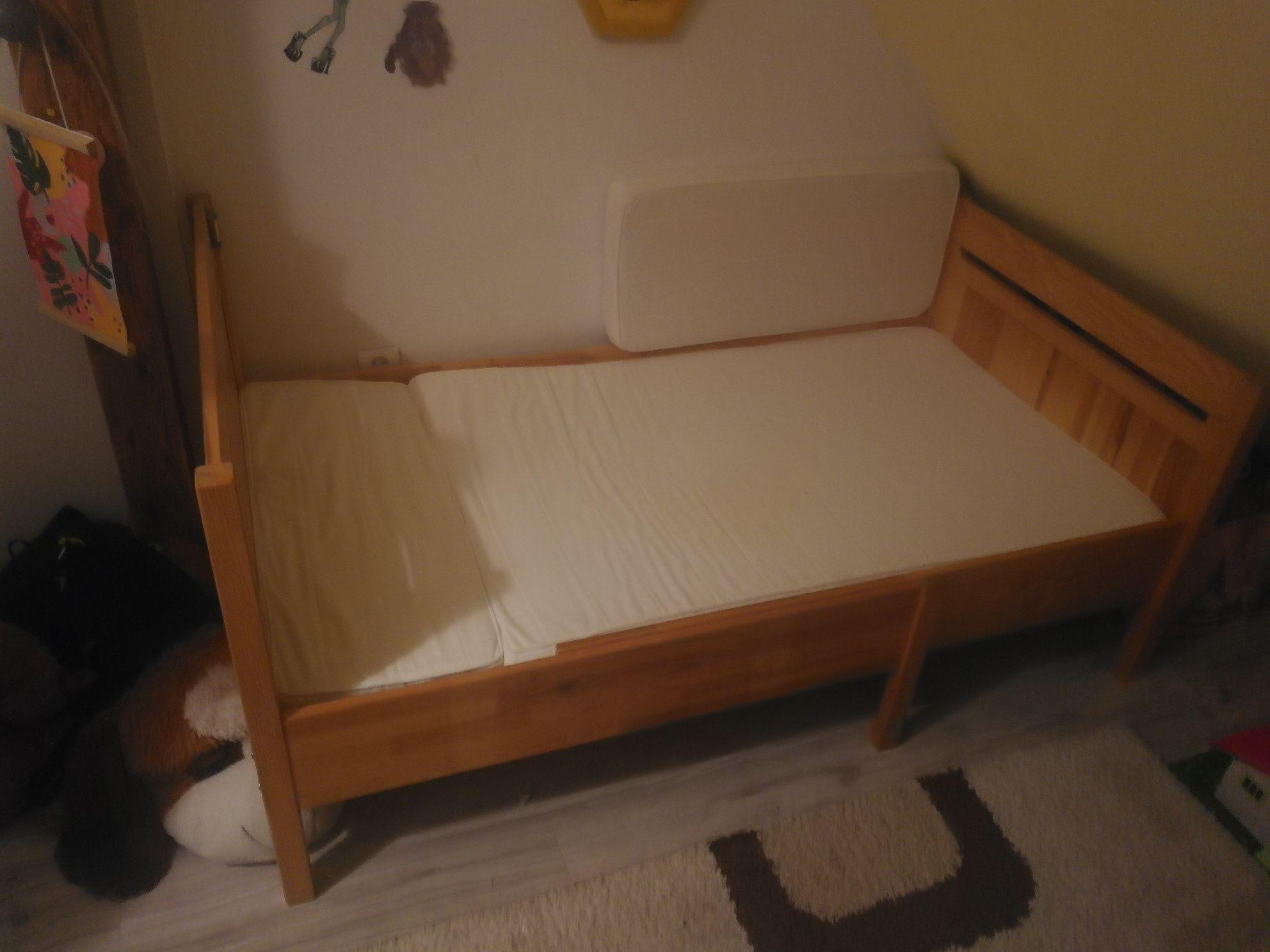 Łóżko dziecięce rozsuwane