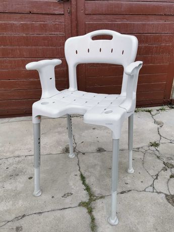 Krzesełko pod prysznic Etac Swift - świetny stan