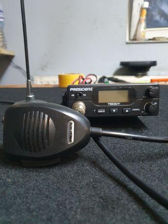 Cb radio president teedy antena president florida